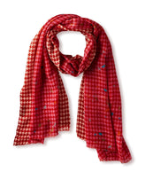 Load image into Gallery viewer, Fun Houndstooth Scarf
