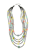 Load image into Gallery viewer, Multi Stone Statement Necklace