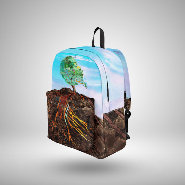 God As Earth ~ Backpack • OE