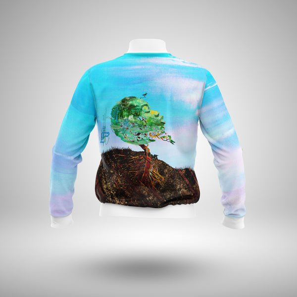 God as Earth ~ Men's Bomber Jacket • LE60