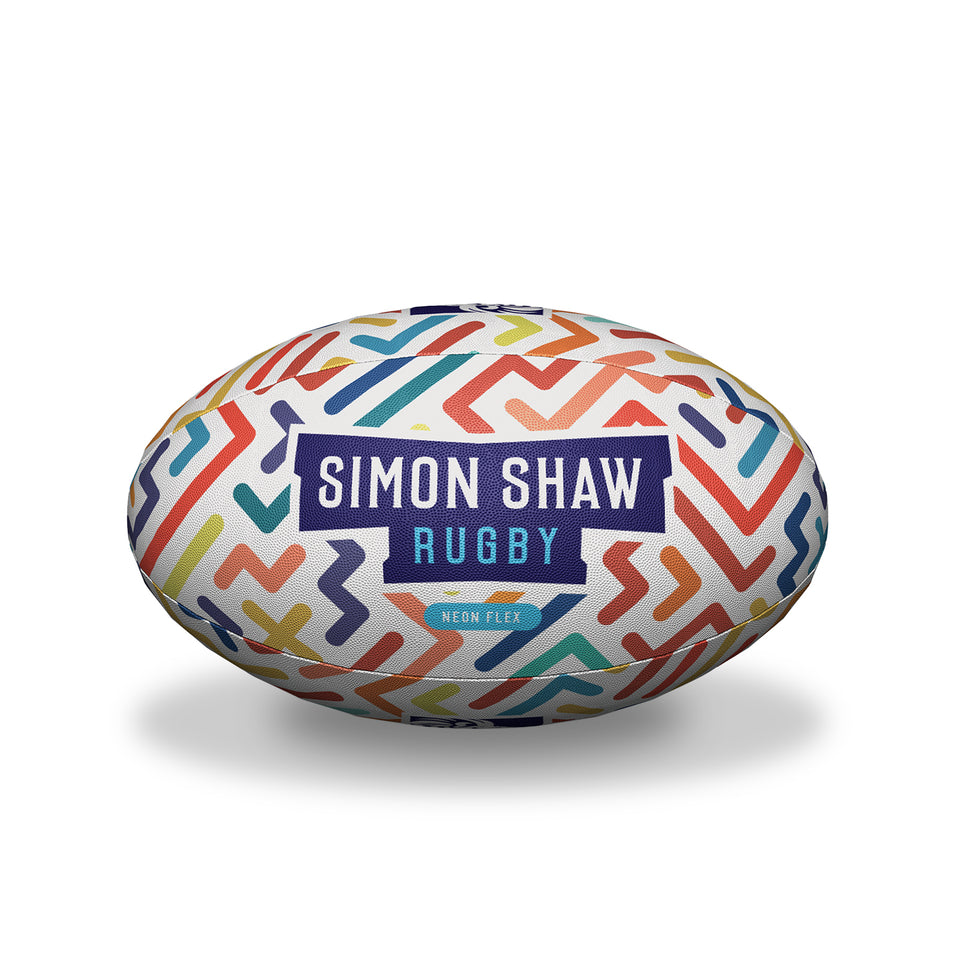 Neon Flex Rugby Ball
