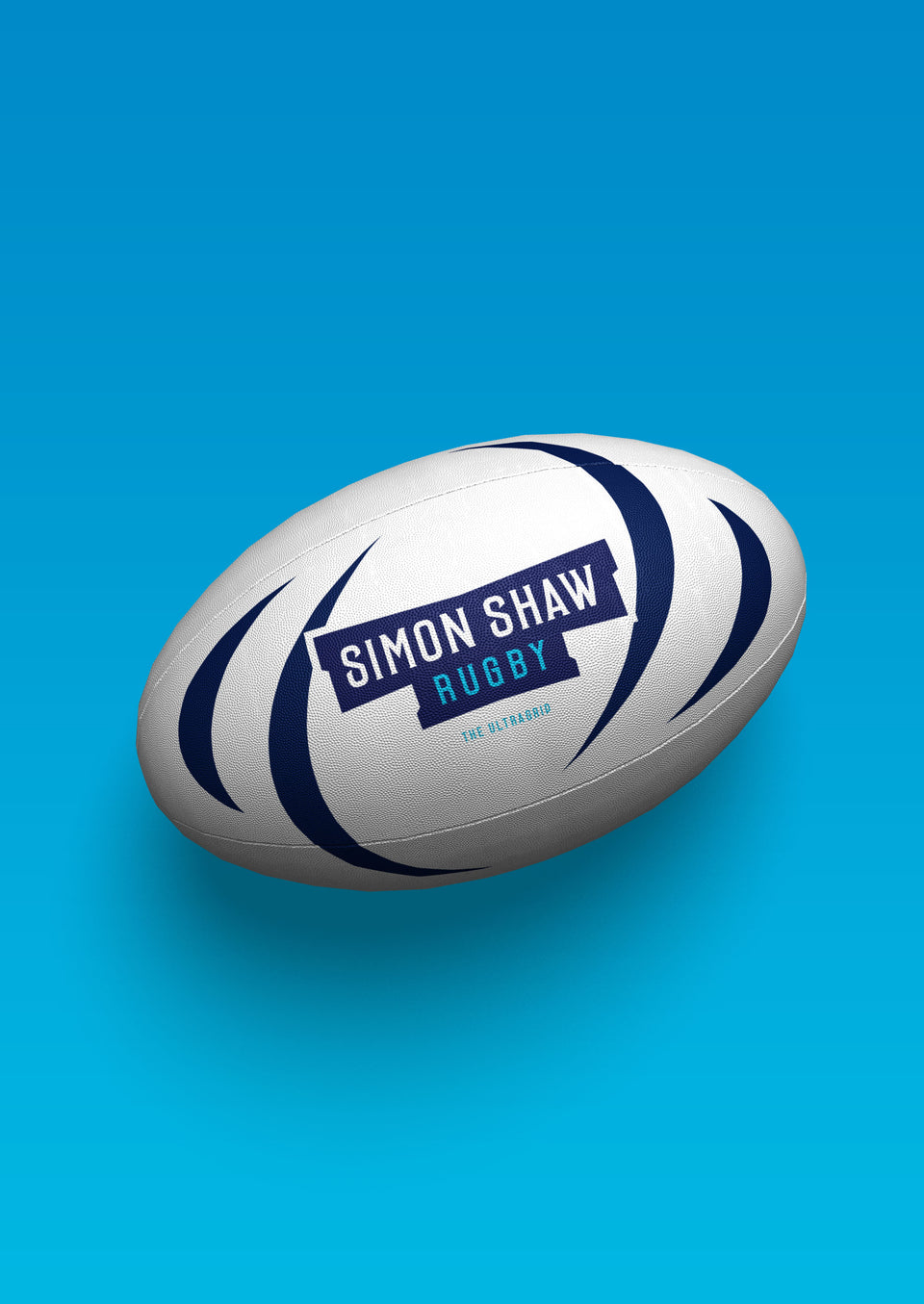 The UltraGrip Rugby Ball