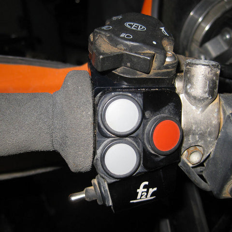 Mounting kit for a KTM EXC (CEV) switch