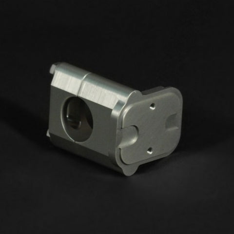 Billet ICO Switch Mount - Throttle Side