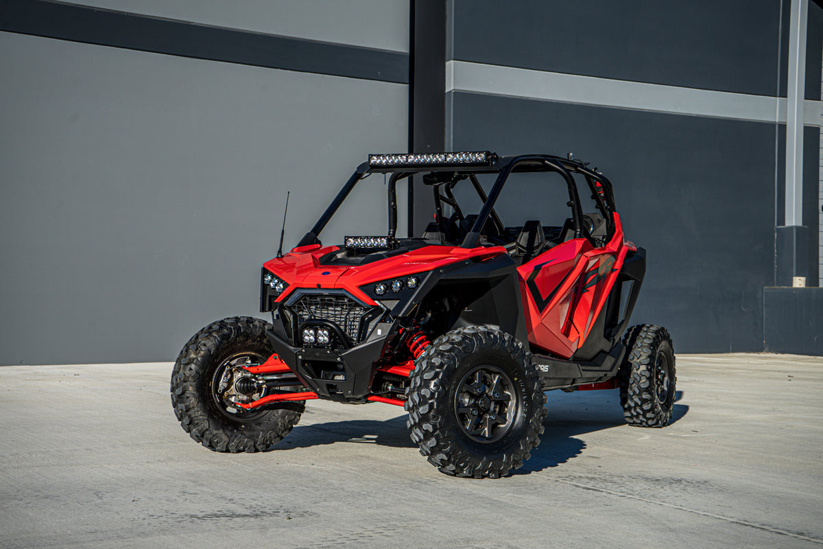 Baja Designs Polaris RZR Pro XP Lower Bumper Kit - Squadron Sport