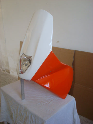 KTM 690 E/R fiberglass fairing, to fit with Safari Fuel Tank
