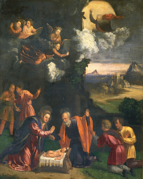 ADDORATION OF THE SHEPHERDS VA - CATHOLIC PRINTS PICTURES
