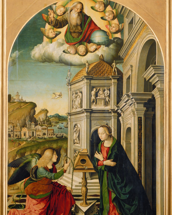 ANNUNCIATION 83 VA - CATHOLIC PRINTS PICTURES