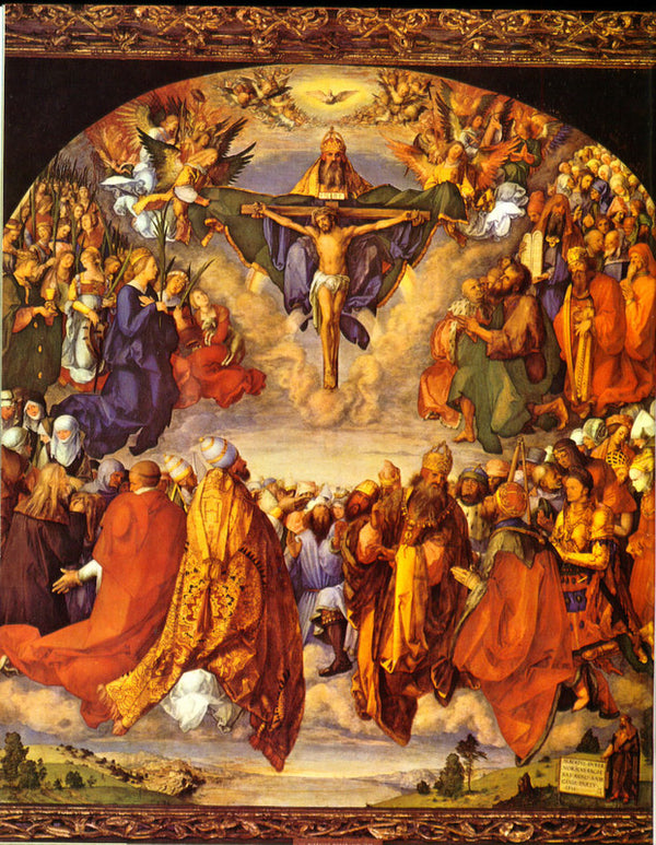 ADORATION OF THE TRINITY - CATHOLIC PRINTS PICTURES