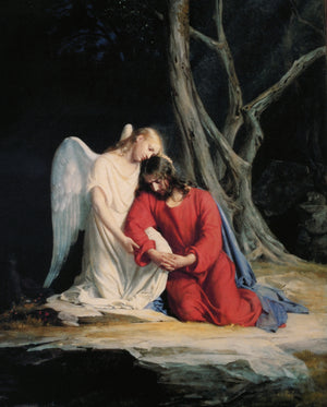 AGONY IN THE GARDEN - CATHOLIC PRINTS PICTURES