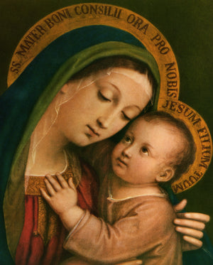 OUR LADY OF GOOD COUNSEL- CATHOLIC PRINTS PICTURES