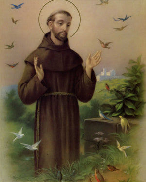 ST FRANCIS- CATHOLIC PRINTS PICTURES