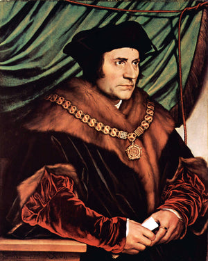 ST THOMAS MORE- CATHOLIC PRINTS PICTURES