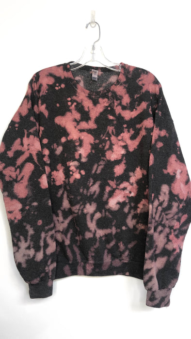 Berry Wine Tie Dye Sweatshirt