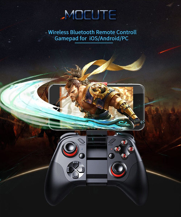 Bluetooth Mobile Joypad - Perfect for Android, iPhone, VR, Tablet, PC, Smart TV