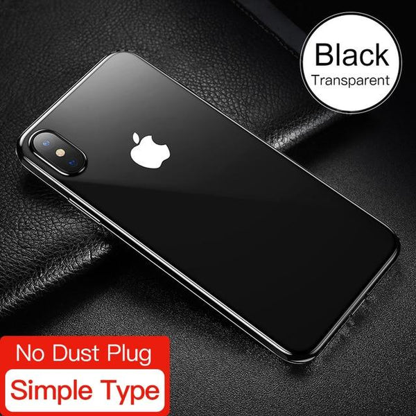 Ultra Thin Clear Soft TPU Silicone for iPhone X 10