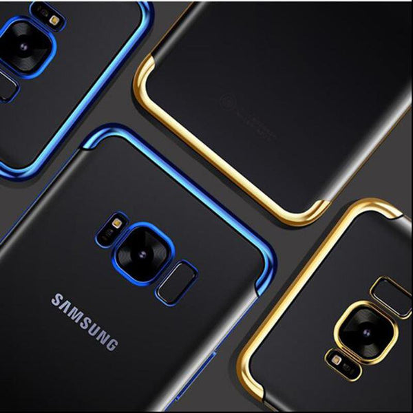 Ultra Thin Transparent Case For Samsung