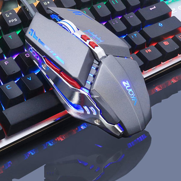 Optical LED Gaming Mouse - DPI Adjustable For Professional Gamer