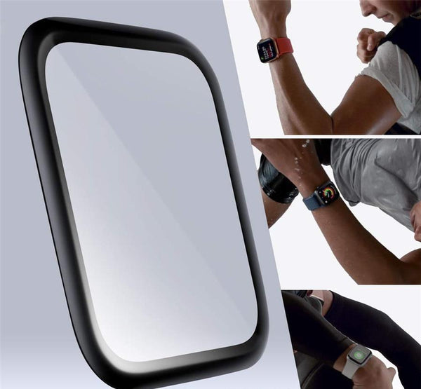 3D Full Size Tempered Glass Screen Protector for Apple Watch 1/2/3/4