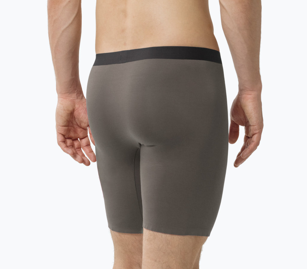 MicroModal Boxer Briefs - Charcoal