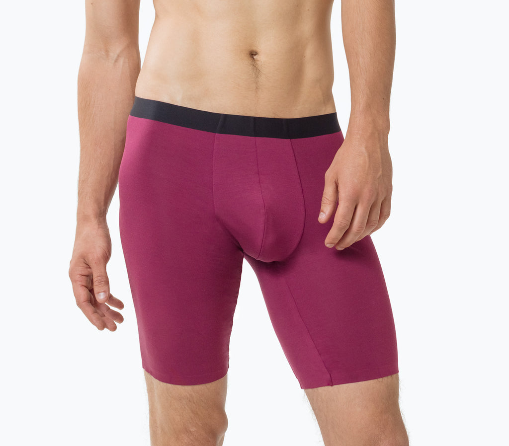 MicroModal Boxer Briefs - Wine