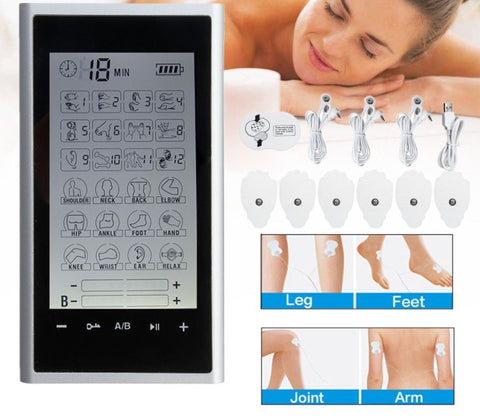 Portable TENS Unit Machine leg feet joint arm