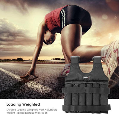 Weighted Workout Vest - running training