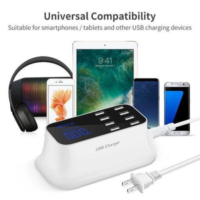 Smart 8-Port USB Fast Charger