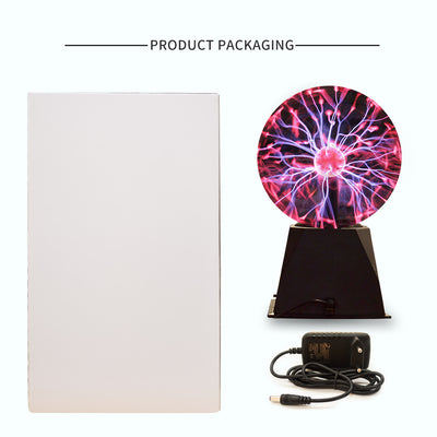 Magic Plasma Static Ball product packaging inclusions