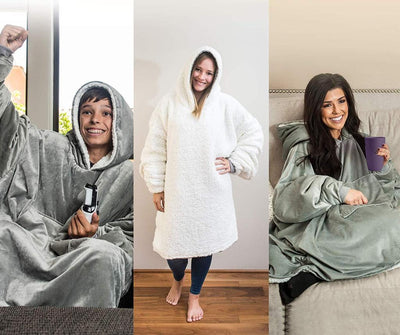 Comfy: Warm, Soft, Cozy Blanket Sweatshirt