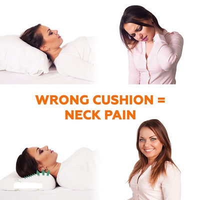 Orthopedic Support Neck Cervical Pillow wrong cushion