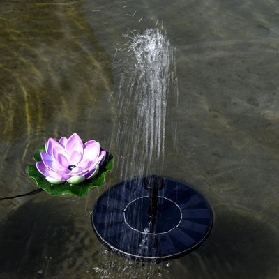 SmartGarden - Solar Powered Bird Bath Fountain Kit