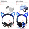 CAT EAR HEADPHONES – LED GAMING HEADSET