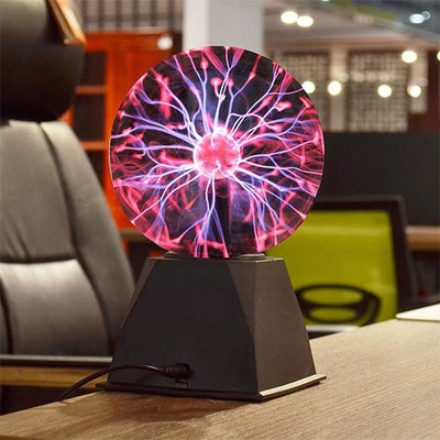 Plasma Ball Front Table Top Profile