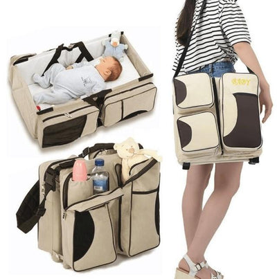 Portable Baby Bed Crib Snuggle Nest