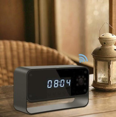 Designer Clock With Dvr- Night Vision And And WiFi