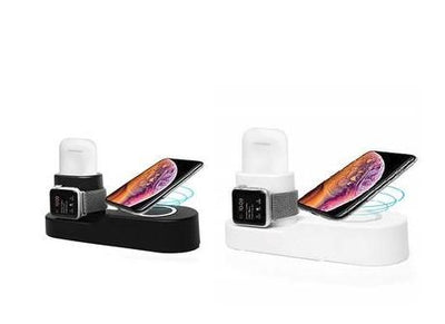 3 in 1 Wireless Fast Charging Dock Station