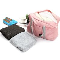 Discounted Foldable Weekender Bag Pink Foldable Weekender Bag