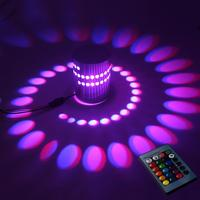 Discounted Light RGB With Controller Modern Curve Light