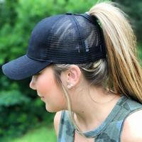 Discounted Ponytail Baseball Cap Black Ponytail Baseball Cap