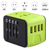 Discounted Smart Travel Adapter Green Smart Travel Adapter