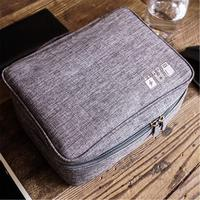 Discounted Tech Travel Organizer Bag Light Grey Tech Travel Organizer Bag