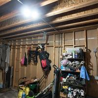 Discounted White Led Deformable Garage Lamp