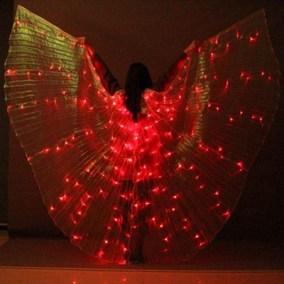 LED Butterfly Wings – 360 Degree Costume Wings – Light Up Wings