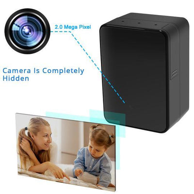 1080P WiFi Charger Camera Super IR Night Vision Motion Activated Security Live View and Audio