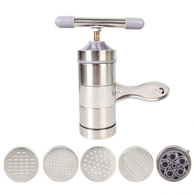 Manual Noodle And Pasta Maker Stainless Steel Press
