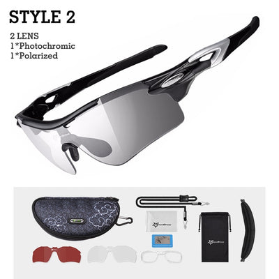 Photochromic Sports Sunglasses style 2 side