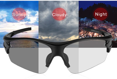 Photochromic Sports Sunglasses front
