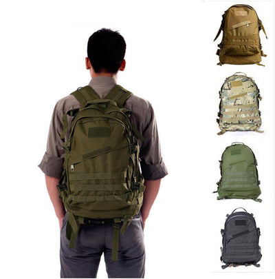 ARMY MILITARY TACTICAL RUCKSACK BACKPACK BAG - on back