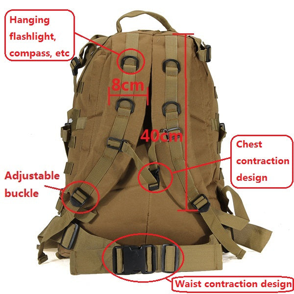 ARMY MILITARY TACTICAL RUCKSACK BACKPACK BAG details